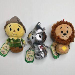 Itty Bittys Wizard of Oz Scarecrow, Lion & Tin Man